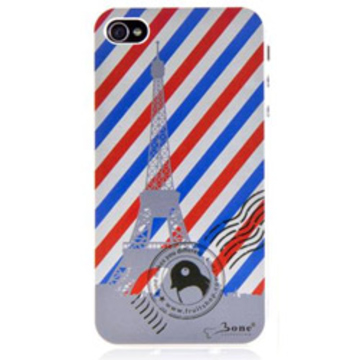Футляр Bone Shimmer Paris Black (для iPhone 4S, аллюминий)