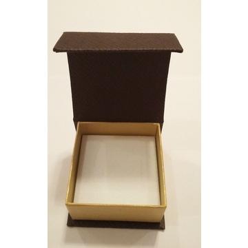 Коробка Present Paper FB1105 Coffee Gold (картон, на магните, 65х63х35мм)