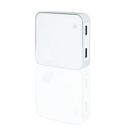 Внешний аккумулятор Present C002 White Silver (4400mah)
