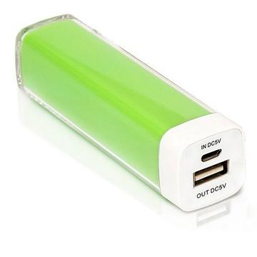 Внешний аккумулятор Present C009 Green (2800mah)