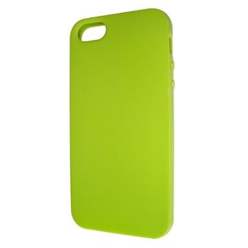 Футляр Present Lime Yellow Matt (для iPhone 5, силикон)