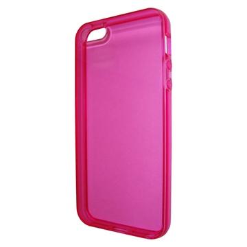 Футляр Present Pink Transparent (для iPhone 5, силикон)