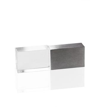 Накопитель под нанесение Present G142 8 GB Silver Matte Cap
