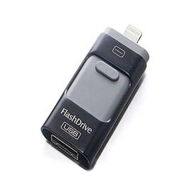Present i-Flash Dual F2 64 Gb Black