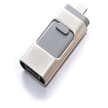 Present i-Flash Dual F2 64 Gb Silver