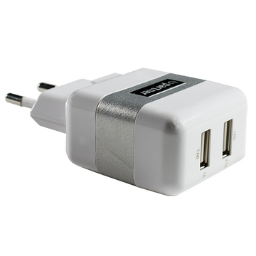 Зарядное устройство Partner (2xUSB, 1A/2.1A)