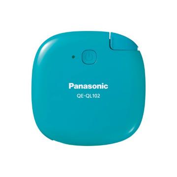 Портативный аккумулятор Panasonic QE-QL102 Green (кабель microUSB, 1430 mAh)