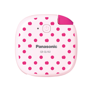 Портативный аккумулятор Panasonic QE-QL102 Pink (кабель microUSB, 1430 mAh)