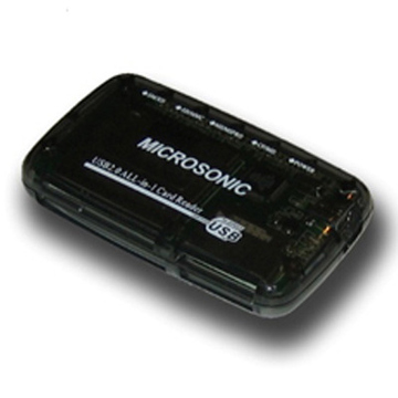 Card reader Microsonic CR-03 Black (57-в-1)