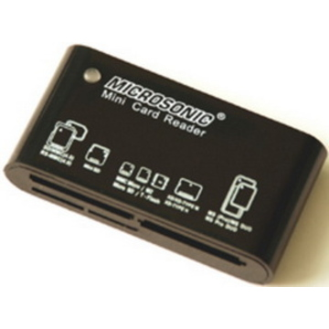 Card reader Microsonic CR-81 Black (45-в-1)