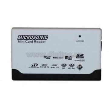 Card reader Microsonic CR-82 Black White (57-в-1)