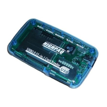 Card reader Highpaq CR-Q005 Blue (63-в-1)