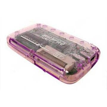 Card reader Highpaq CR-Q005 Pink (63-в-1)