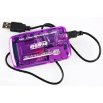 Card reader Highpaq CR-Q005 Purple (63-в-1)