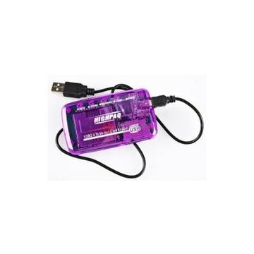 Card reader Highpaq CR-Q002 Purple (66-в-1)