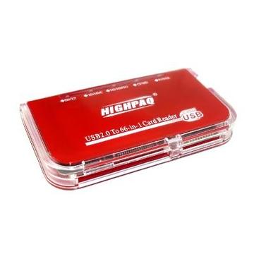 Card reader Highpaq CR-Q002 Red (66-в-1)