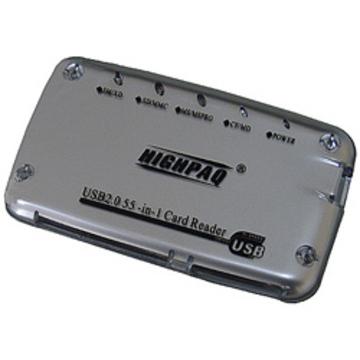 Card reader Highpaq CR-Q002 Silver (66-в-1)