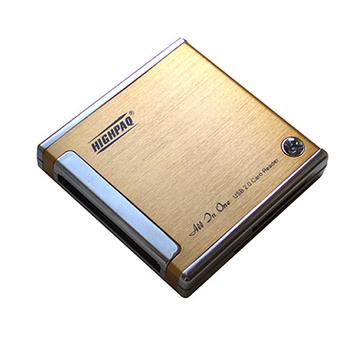Card reader Highpaq CR-Q003 Gold (66-в-1)