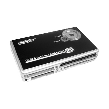 Card reader Highpaq CR-Q008 Black (66-в-1)