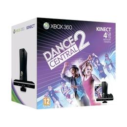Microsoft Xbox 360 (S4G-00056, 4Gb, с Kinect, игра Kinect Adventures, игра Dance Central 2)