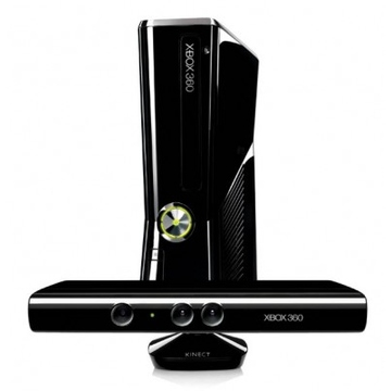 Microsoft Xbox 360 (S4G-00124, 4Gb, с Kinect, игры Kinect Adventures, Kinect Sports, 3M Live РОСТЕСТ)