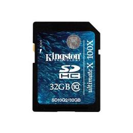 SDHC 32Гб Kingston Класс 10 (G2)