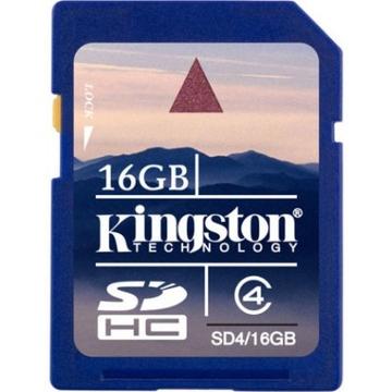 SDHC 16Гб Kingston Класс 4