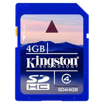 SDHC 04Гб Kingston Класс 4