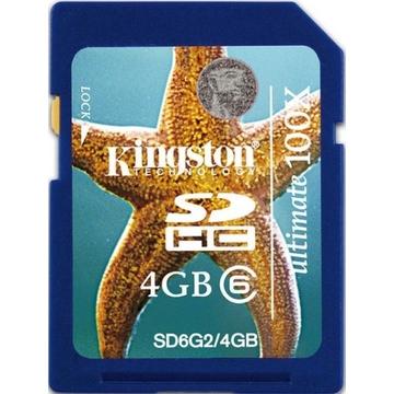 SDHC 04Гб Kingston Класс 6 Gen2