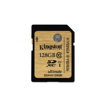 SDXC 128Гб Kingston Класс 10 UHS-I Ultimate