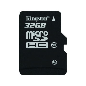 MicroSDHC 32Гб Kingston Класс 10 (без адаптера)