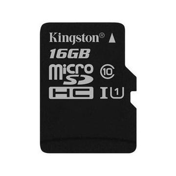MicroSDHC 16Гб Kingston Класс 10 UHS-I 45MB/s (без адаптера)