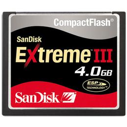 Compact Flash 04Гб Sandisk Extreme III
