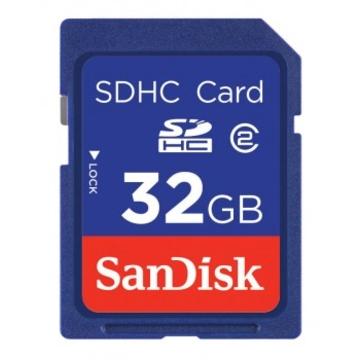 SDHC 32Гб Sandisk Класс 2