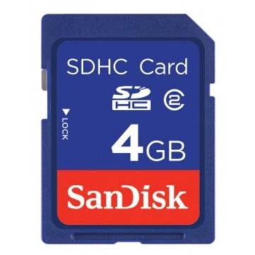 SDHC 04Гб Sandisk Класс 2