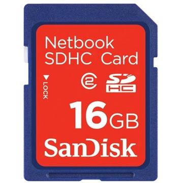 SDHC 16Гб Sandisk Класс 2