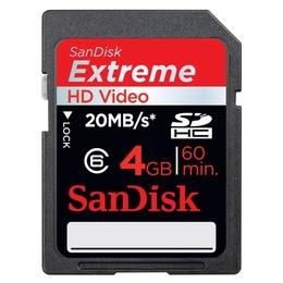 SDHC 04Гб Sandisk Extreme