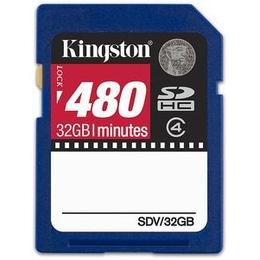 SDHC 32Гб Kingston Класс 4 (Video Card)