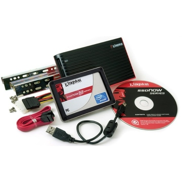 Твердотельный накопитель SSD Kingston 160GB M Series Upgrade Bundle Kit