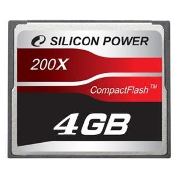 Compact Flash 04Гб Silicon Power 200X