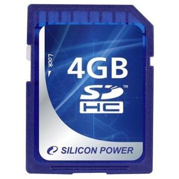 SDHC 04Гб Silicon Power Класс 4