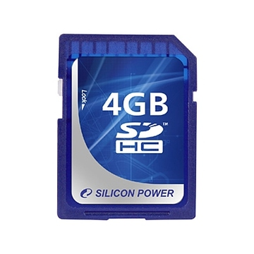 SDHC 04Гб Silicon Power Класс 6 (Full HD Video Card)