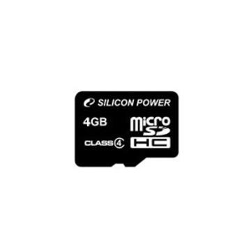MicroSDHC 04Гб Silicon Power Класс 10 (без адаптера)