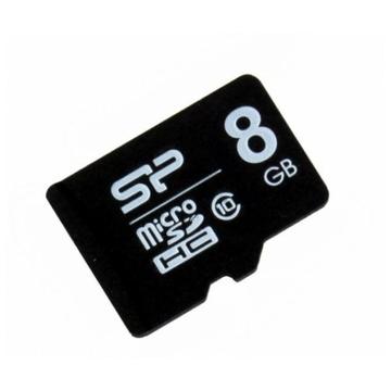 MicroSDHC 08Гб Silicon Power Класс 10 (без адаптера)