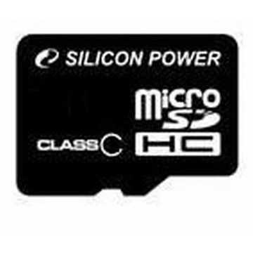 MicroSDHC 16Гб Silicon Power Класс 4 (без адаптера)