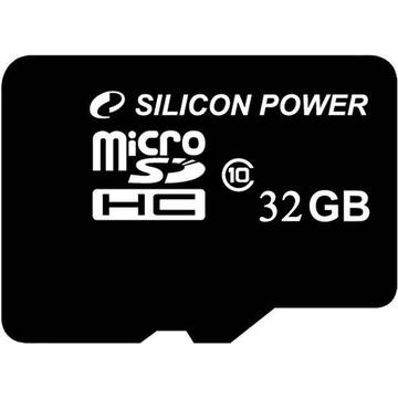 MicroSDHC 32Гб Silicon Power Класс 10 (без адаптера)