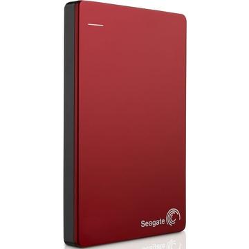 """Внешний жесткий диск 2Тб Seagate Backup Plus Slim Red (3.5"""""""", USB3.0, PC/Mac)"""