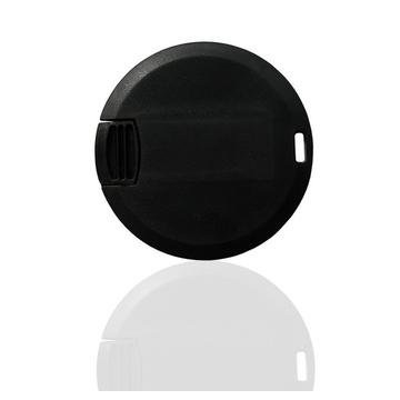 Накопитель под нанесение SuperTalent CO-CD-ROUND 16 gb Black