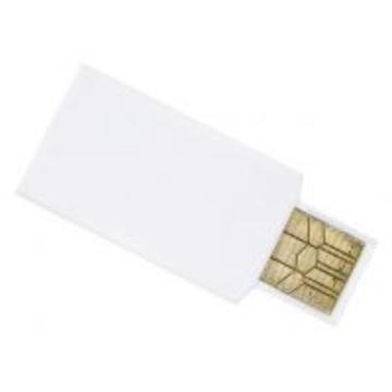 Накопитель под нанесение SuperTalent SA Slim 2GB White