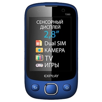 Explay T285 Blue